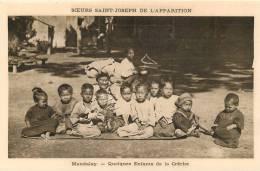 MANDALAY QUELQUES ENFANTS DE LA CRECHE SOEURS JOSEPH DE L'APPARITION - Myanmar (Burma)