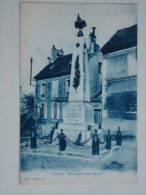 TRILPORT ( 77 ) MONUMENT AUX MORTS  CPA  COULEUR - Otros Municipios