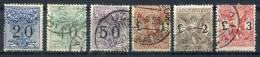1924 - ITALIA-TASSE VAGLIA. -6 VAL. USED - Sonstige