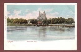 16919 - SPEYER - Rhein Mit Dom - 1907 - Speyer