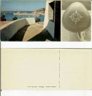Porto Cervo (Costa Smeralda - Olbia). Maxi Cartolina Grandangolo Cm 21x9,5 Anni ´60-´70 - Olbia