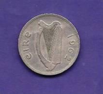IRELAND 1962,  Circulated Coin XF, 2 Florin, Copper Nickel KM 15A C90.174 - Ireland