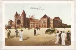 Altona , Vom Ehemaligen Altonaer Hauptbahnhof Sind Nur Traurige Reste Geblieben , Um 1910 Zeigte Er Sich In Alter Pracht - Altona