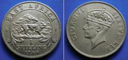 BRITISH  EAST AFRICA  1 Shilling 1948 LION & GEORGE VI - 7,6 Gr. - British Colony