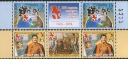 Serbia And Montenegro (Yugoslavia), 2004, 200 Years From 1st Serbian Uprising, Stamp-vignette-stamp, MNH - Yougoslavie