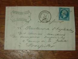 Lettre De ADAM BLAISE à CHARLEVILLE, Brooserie, Pinceaux ....  - 1861 ............. CM-14 - France