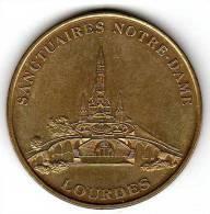 MDP : Sanctuaires Notre-Dame De Lourdes - Monnaie De Paris