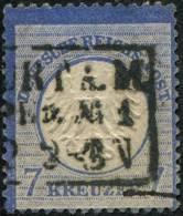 Pays :  22,2 (Allemagne : Empire)    Yvert Et Tellier N°:  10 (o) - Oblitérés
