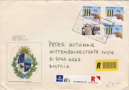 Uruguay - Registered 2013 To Austria - Uruguay
