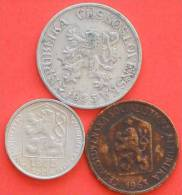 CZECHOSLOVAKIA        3 Coins   -    (2073) - Monedas & Billetes
