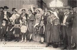 CPA 18000 BOURGES TROIS GRANDES JOURNEES 15-16-17 SEPTEMBRE 1911 GROUPE DU LIMOUSIN 87000 NORMANDIE ALSACE LORRAINE - Bourges