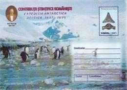 Romania 9 Unused Postal Stationeries, Antarctic Expedition - Polar Philately