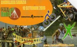*ITALIA: ROMA OFF LIMITS* - Scheda Usata - Pubbliche Figurate Ordinarie