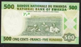 RWANDA   P30b   500   FRANCS    2008    UNC. - Ruanda