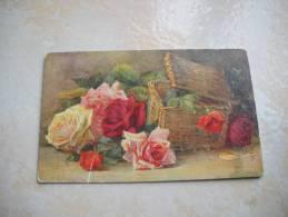 CPA Raphael TUCK Fleurs Roses Foster - Tuck, Raphael