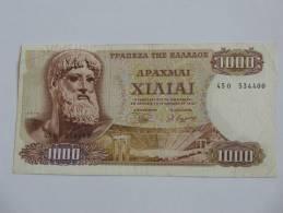 1000 DRACHMES - Apaxmai Ekaton - GRECE  - 1970 - Grèce
