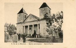 SAINT PIERRE (Réunion) église Paroissiale Animation - Saint Pierre