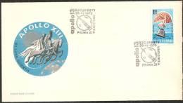 Romania 1970 FDC - Mi.2863  Yv.PA.226 - FDC