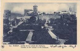 MOROCCO -RABAT-GARDEN OF THE CASBAH OF THE OUDAYAS - Rabat