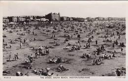 WESTON SUPER MARE - THE SANDS, SOUTH BEACH . TUCK PUBL. WSM8 - Weston-Super-Mare
