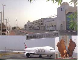 United Arab Emirates  - Fujeirah International Airport (with Eagle Statue) - Aerodrome