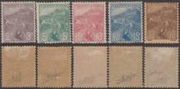 *PROMO* Série Orphelin De 1919 Du N° 2c Au 50c Neuf * TB Et Signé (Y&T N° 27 à 31, Cote: +400€)