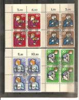 DSP663a/ Jugendarbeit 1974, Mi.nr. 468-71, 4-er Einheiten, Ersttag O - Berlin (West)
