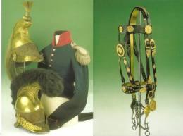 Carte Des Arts Militaires, Coiffures Cuivreries Costume Cavalier - Equipment