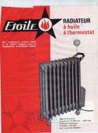 ETOILE - Appareils électrique - Radiateur à Huile à Thermostat - Paris R.C. Seine - Publicités