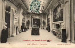 NANCY EXPOSITION D ART DÉCORATIF 1904 Galerie D'entrée Perspective - Nancy