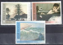 Belgium 1992 - Art Painting  Gemalde - Mi.2514-2516  -  MNH (**) - Bélgica