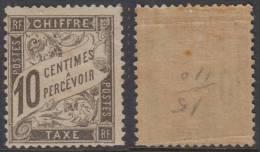 *PROMO* 10c Banderolle Neuf ** Sans Charnière ! (Y&T N° 15 , Cote +++275€) - Postage Due