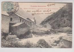 CPA DPT 09 SALAU, USINE DE L EXPLO ITATION FORESTIEREen 1905!!! - Francia