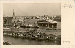 AK Hamburg, Kehrwiederspitze, Hafen, Gel 1939 - Deutschland