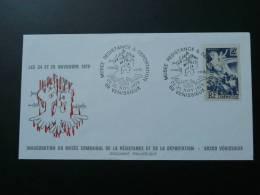 Lettre Cover Musée Résistance & Déportation Vénissieux - 2. Weltkrieg