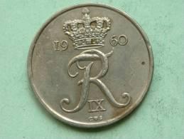 1960 CS ( Rare ) 25 ORE / KM 850 ( For Grade, Please See Photo ) ! - Danemark