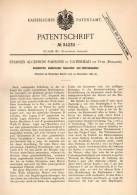 Original Patentschrift - Ch. Parsons In Gateshead On Tyne , 1881 , Electric Generator And Motor !!! - Tools