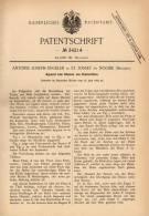Original Patentschrift -A. Engelen In St. Josse Ten Noode ,1885,Apparat Für Druckletter , Letter , Druckerei , Buchdruck - Machines