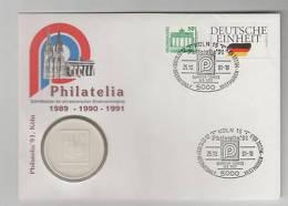 Numisbrief Philatelia 91, Köln - Postzegels