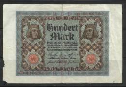ALLEMAGNE . 100 MARK . 1920 . - [ 3] 1918-1933 : Repubblica  Di Weimar