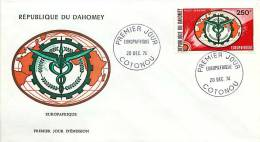 1974  Europafrique   Poste Aérienne FDC - Bénin – Dahomey (1960-...)