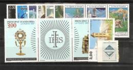 Andorre Année 1997 ** Complète Poste 484 à 496 Avec Carnet 7 - Andorre Français