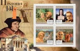 GUINEA 2011 - History Of Art: Renaissance - Mi 8790-3, YT 5915-8 - Kunst