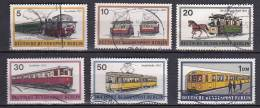 Berlin Mi.-Nr.379-384  O - Berlin (West)