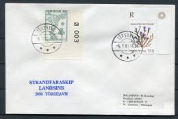 1981 Faroes Thorshavn Ship Cover - Faroe Islands