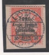 Togo  N° 37B (Type II)  Avec Oblitération Cachet à Date, Signé Scheller  TTB - Non Classés