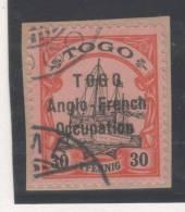 Togo  N° 37B (Type II)  Avec Oblitération Cachet à Date, Signé Scheller  TTB - Togo (1914-1960)