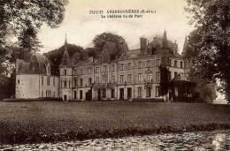 CHARBONNIERES Le Château Vu Du Parc (C1653) - Non Classés