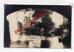 ETIKHOVE-MOULIN A EAU-MOLEN-WASSERMÜHLE-Carte PHOTO Allemande-Guerre 14-18-1WK-Farine-Metier-Flanden-Feldpost- - Maarkedal