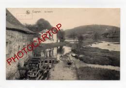 CUGNON-MOULIN A EAU-MOLEN-MÜHLE-Guerre 14-18-1WK-Farine-Metier-Feldpost-Libramont-1914- - Bertrix